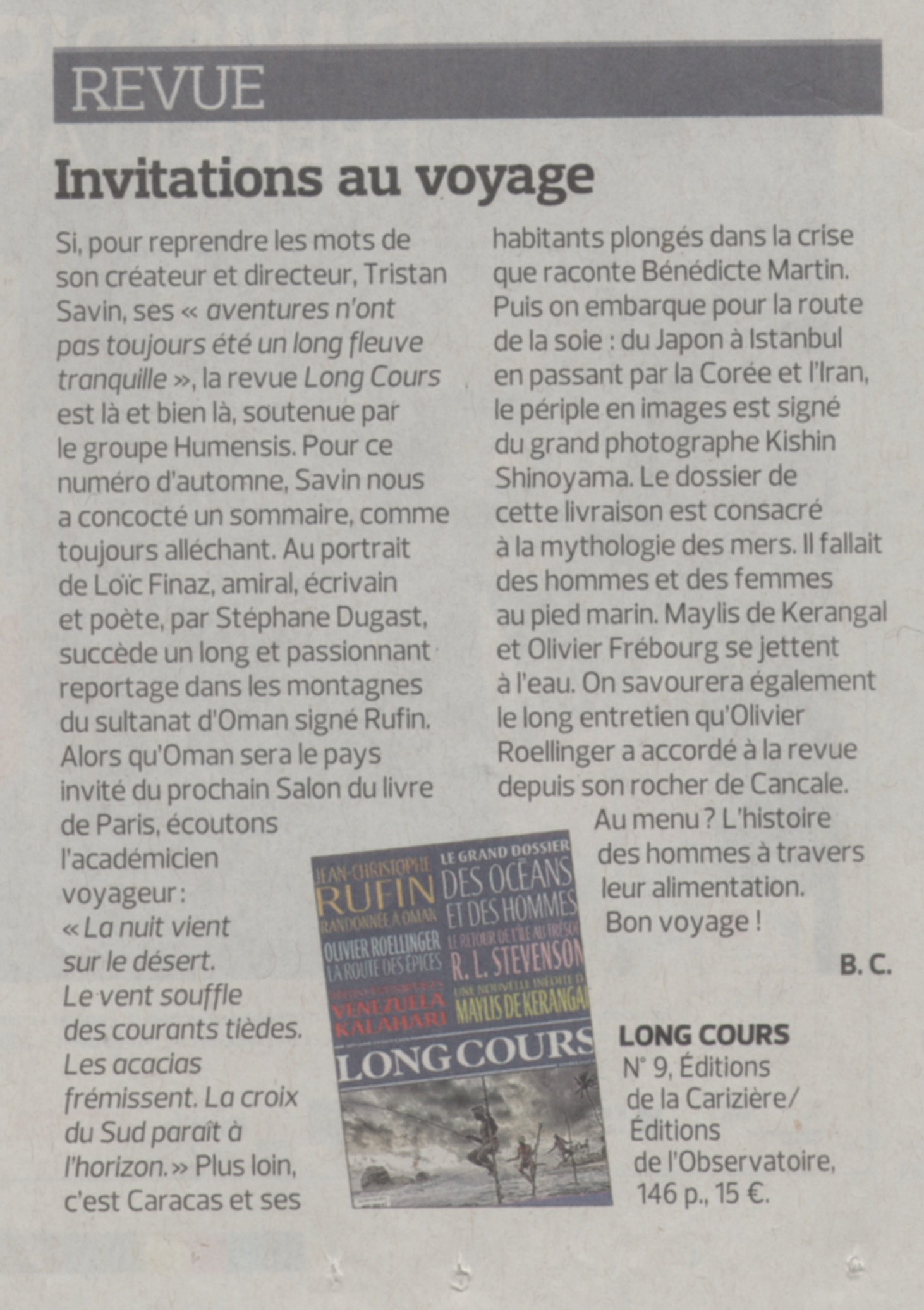 article figaro litteraire